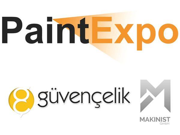 Almanya'da Paint Expo Fuarındayız!