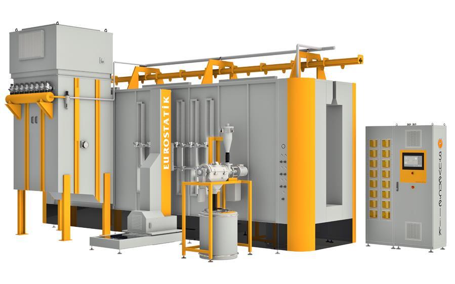 Otomatik Toz Boya Kabinleri