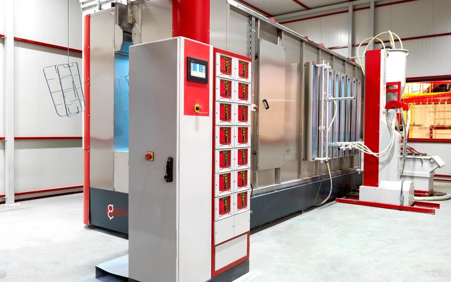 Otomatik Toz Emaye Kabinleri